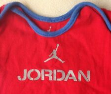 "MICHAEL JORDAN BASKETBALL ""JUMPMAN"" BABY 1-PIECE OUTFIT BOY'S 0-3M infant NICE"