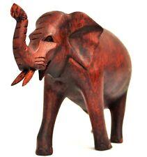 sitzender Elefant Holz Tier Figur Kinder Afrika Spielzeug KTier92