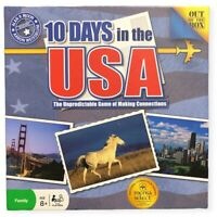 10 Days In The USA Educational Family Board Game Mensa Select Award