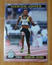 MARION JONES 1998 SPORTS ILLUSTRATED SI FOR KIDS RC FIRST CARD REISSUE ODDBALL
