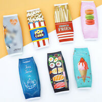 Simulation Food Pencil Case Pouch Stationery Office & School Supply Makeup Bags