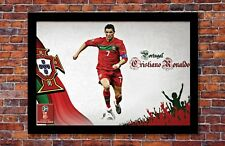 2018 World Cup Soccer Russia   TEAM PORTUGAL Ronaldo Poster   13 x 19 inches