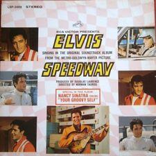 """King ELVIS Presley """"SPEEDWAY"""" Soundtrack RCA LSP-3989 BONUS Pic BLK Label VINYL!"""