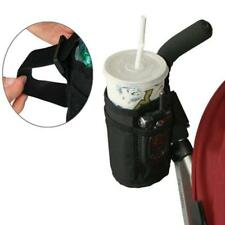 Baby Stroller Cup Holder Pocket Bag Milk Bottle Phone Pram Wheelchair Organiser