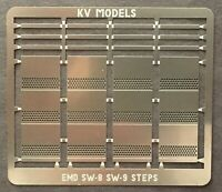O-SCALE ETCHED DIESEL CAB SUNSHADES BY KV MODELS KV-1001P