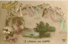 THE LANGUAGE OF RIBBONS.  TINTED RP