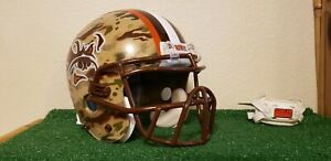 Cleveland Browns  Custom concept Army camouflage full size medium helmet!