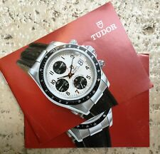 TUDOR Raro vintage booklet 581.65 1 chronograph 79280-79260 - edizione ITA - NOS