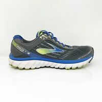 Brooks Mens Ghost 9 1102331D060 Gray Blue Running Shoes Lace Up Low Top Size 9 D