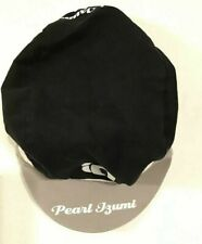 Pearl Izumi cycling cap, One Size, Black with Gray/White Trim