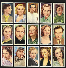 Cigarette Cards. Gallaher Tobacco. My Favourite Part.(Films)(Complete Set)(1939)