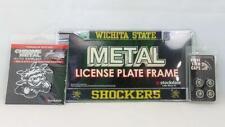Wichita State Shockers NCAA Official 3pc License Plate Automotive Fan Kit