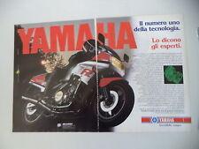 advertising Pubblicità 1985 MOTO YAMAHA FZ 750