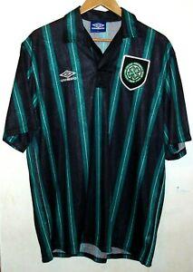 CELTIC 1992 FOOTBALL SHIRT BY UMBRO XL JERSEY