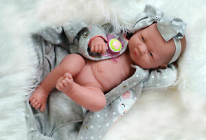 Preemie Berenguer La Newborn Doll + Extras Accessories Life like Alive Pacifier