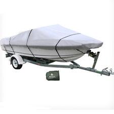17-19 ft Trailerable Marine Boat Cover 5.2-5.8M Rain Sun UV Half Cabin 20008007
