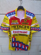 Maillot HITACHI BOSAL B.C.E SNOOKER Tour de France 1988 jersey trikot vintage 6
