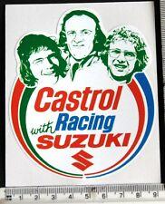 Team Suzuki 1970's era Riders sticker    11