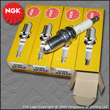 NGK SPARK PLUG SET ZFR5F x4 STOCK NO. 5165