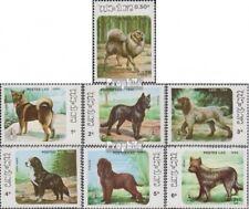 Laos 944-950 (complète edition) neuf avec gomme originale 1986 Chiens