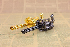 1:6 Soldier Model The Gatling Gun Model Metal Two Colors For Choice