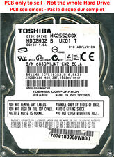 PCB G002217A - Toshiba MK2552GSX - HDD2H02 B UK01 T - A0/LV010M - 250Go
