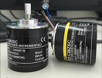 1 pc OMRON 1000P Incremental Rotary Encoder 1000p/r 6mm Shaft 5-24vdc E6B2-CWZ6C
