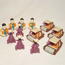 Vintage Flinstones 1993 Movie Candy Container Figures Cars Dino Fred