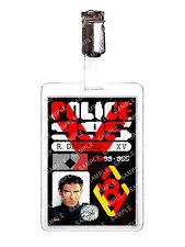 Blade Runner Police 995 Rick Deckard ID Badge card prop cosplay Comic Con
