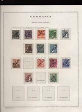 Berlino 1948/68 collezione usata in 25 fogli d'album, completa dal 1954 (N752)