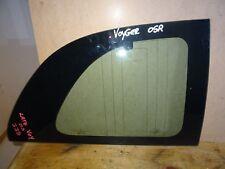 CHRYSLER VOYAGER MK3 96-00 DRIVER RIGHT SIDE QUARTER WINDOW GLASS