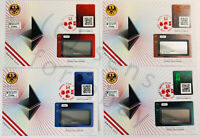 ONLY 6 Worldwide: 4 Set Ersttagsbrief First Day Cover FDC CS2 Crypto Stamp 2.0