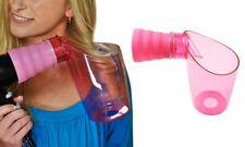 Diffusore arricciacapelli rosa con design universale asciuga arriccia i capelli