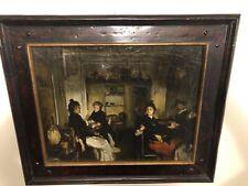 Authentic Oil Painting Venetian Wine Shop- W/ Coa - Signed: Trevor James