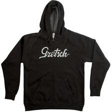 Gretsch Guitars Script Logo Hoodie, Gray, XL, Extra Large