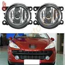 2X Fog Lights Bumper Lamps k For Peugeot 207 307 407 607 3008 SW CC VAN 2000-13