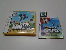 New Super Mario Bros Nintendo DS Japan