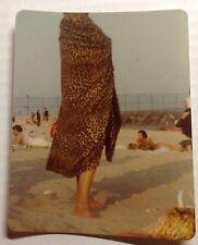 """FAR ROCK-AWAY BEACH  SNAPSHOT   Headless WALKER 1983  4 1/2"""" by 3 1/2"""" #77b"""