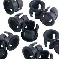 50 5mm Black Plastic LED Holder Case Clip Display Panel LW