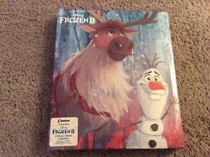 BNIB New Paladone Disney Frozen II 12 Door Advent Calendar - Pencils Stickers