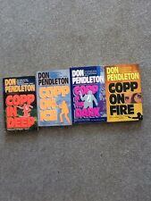 DON PENDLETON x 4 JOE COPP SERIES