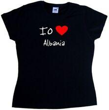 T-shirt, maglie e camicie da donna neri in cotone taglia 40