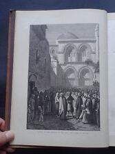 JERUSALEM, BETHANY & BETHLEHEM : Joppa / Religion / Solomon Wailing Wall 1887