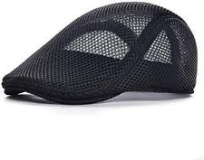 Wetoo Mesh Black Breathable Driving Gatsby Cap/Hat  B26
