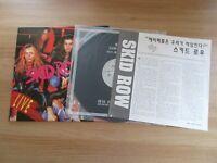 Skid Row - Live 18 And Life 1991 Korea LP w/INSERT NM RARE