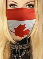 Country Flag Face Mask - Canada
