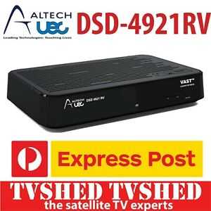 Altech UEC DSD4921RV VAST Satellite Receiver Decoder Express Post 3 Yr Warranty