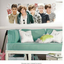 "1 DIRECTION wall sticker giant MURAL musical boy band room decor 1D 40"" doll"