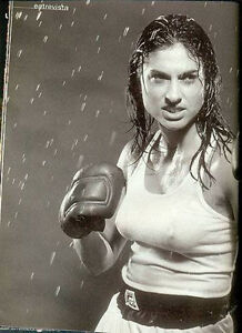 TENNIS GABRIELA SABATINI SUPER SEXY Wet T-Shirt Photos - Magazine 1999