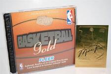 MICHAEL JORDAN 1986-87 Fleer ROOKIE 23KT Gold Card BLACK SIGNATURE INSERT